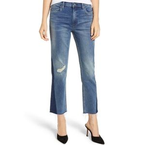 NWT BlankNYC The Madison High Rise Crop Jean